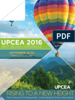 UPCEA West 2016 Conference Program