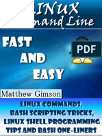 Linux Command Line Fast and Easy