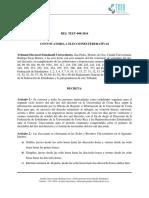 RES TEEU-008-2016 - Convocatoria a Elecciones 2016
