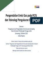 20150325 Estiko Seminar EmisiGas PT.ip Semarang