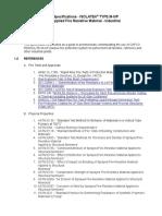 CAFCO FENDOLITE M-II P Industrial Guide Spec.doc