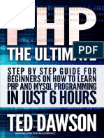 Php the Ultimate Step by Step Guide for Beginners