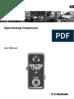 Spectracomp-compressor m En