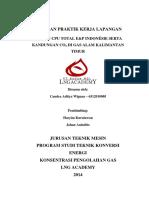 SPS & CPU Serta Kandungan CO2 Di Gas Alam Kalimantan Timur - Candra Aditya Wiguna