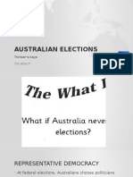 Australian Elections Powerpoint