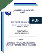 2001 Presas - Compuertas y Válvulas, Inspeccion y Prueba - CONAGUA