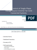 Power Control of Single-Phase