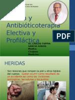 9HERIDAS ANTIBIOTICOS