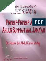 Prinsip 'Aqidah Ahlussunnah Wal Jama'Ah