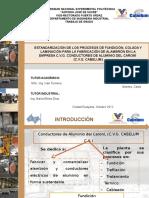 Estandarizacion Procesos Fundicion Colada y Laminacion Fabricacion Alambron