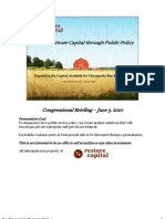 Enticing Private Capital Congressional Presentation June 3rd