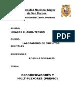 Decodificadores y Multiplexores