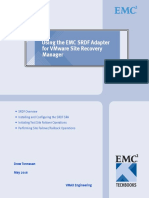 Using the EMC SRDF Adapter for VMware VCenter Site Recovery Manager