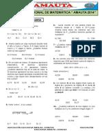 Examen 5 Primaria Sin Claves