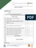 Hoja de Evaluación (Anexo III )