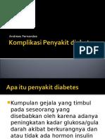 Diabetes komplikasi.ppt