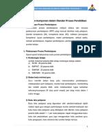 Komponen Dalam Standar Proses Pendidikan