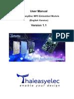 ThaiEasyElec MP3 Embedded Module_V1_1 (English)