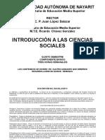 Programa de Introduccion a Las Ciencias Sociales