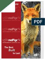 Redfox Catalog 2013