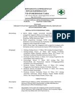 Sk Uraian Tugas Dan Tanggung Jawab Pengelola Keuangan