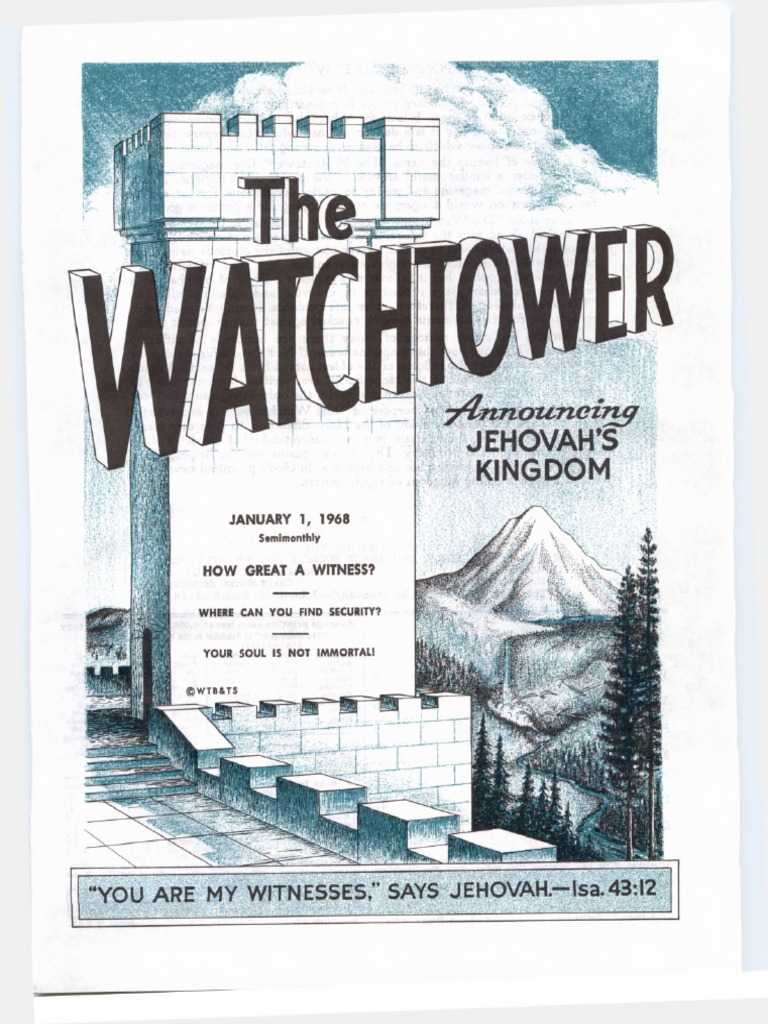 From pdf reasoning with jehovahs scriptures the the witnesses