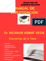 Manual de Investigaciòn