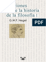 Hegel, Georg Wilhelm Friedrich - Lecciones Sobre La Historia de La Filosofia I