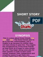 Short Story- Fair's Fair