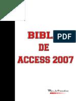 Biblia de Accesss 2 0 0 7
