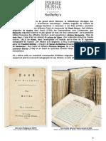 La Littérature Comme Une Fête - Vente #2 Bibliothèque Pierre Berge - Nov... - Copie