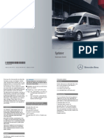 2014 Mercedes Benz Sprinter Maintenance Manual