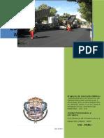 Perfil Tecn Mej Transit Vehiculay y Peatonal Av. Grau . Kennedy - Parcona