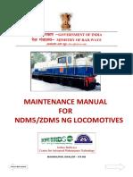 Maintenance Manual for NDM5 ZDM5 NG Locomotive