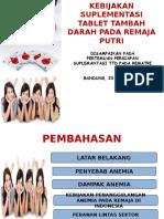 Kebijaakn TTD Rematri