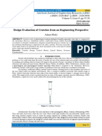 Design Evaluation of Crutches from an Engineering Perspective