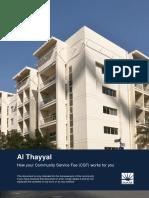 2016 Csf Info Pack - Al Thayyal