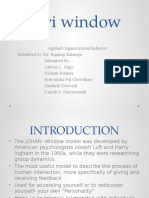 Johari Window Final