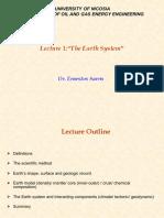 Chapter 1 Earth System v02