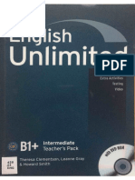 English Unlimited B1+ - Intermediate Teacher's Pack