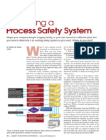 Evaluating a Process Safety System
