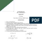 PC1431 Term Test 2013