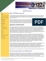NVFC - Required OSHA Standards