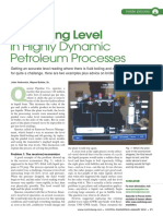 Measuring Level in Highly Dynamic Petroleum Processes