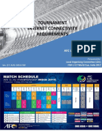 AFC Tournament Internet Requirements Ver17thAug2016