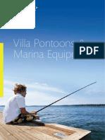 MERINETEK Villa Pontoons Marina Equipment Brochure