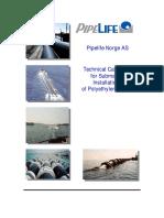 Installation of Submarine PE Pipes
