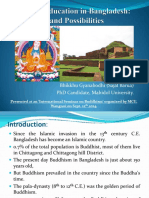 Buddhist Education in Bangladesh