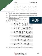 TCVN 4608 1988 Chữ Và Chữ Số Trên Bản Vẽ Xây Dựng