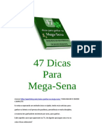 47 Dicas Para Aumentar Suas Chances Na Mega Sena